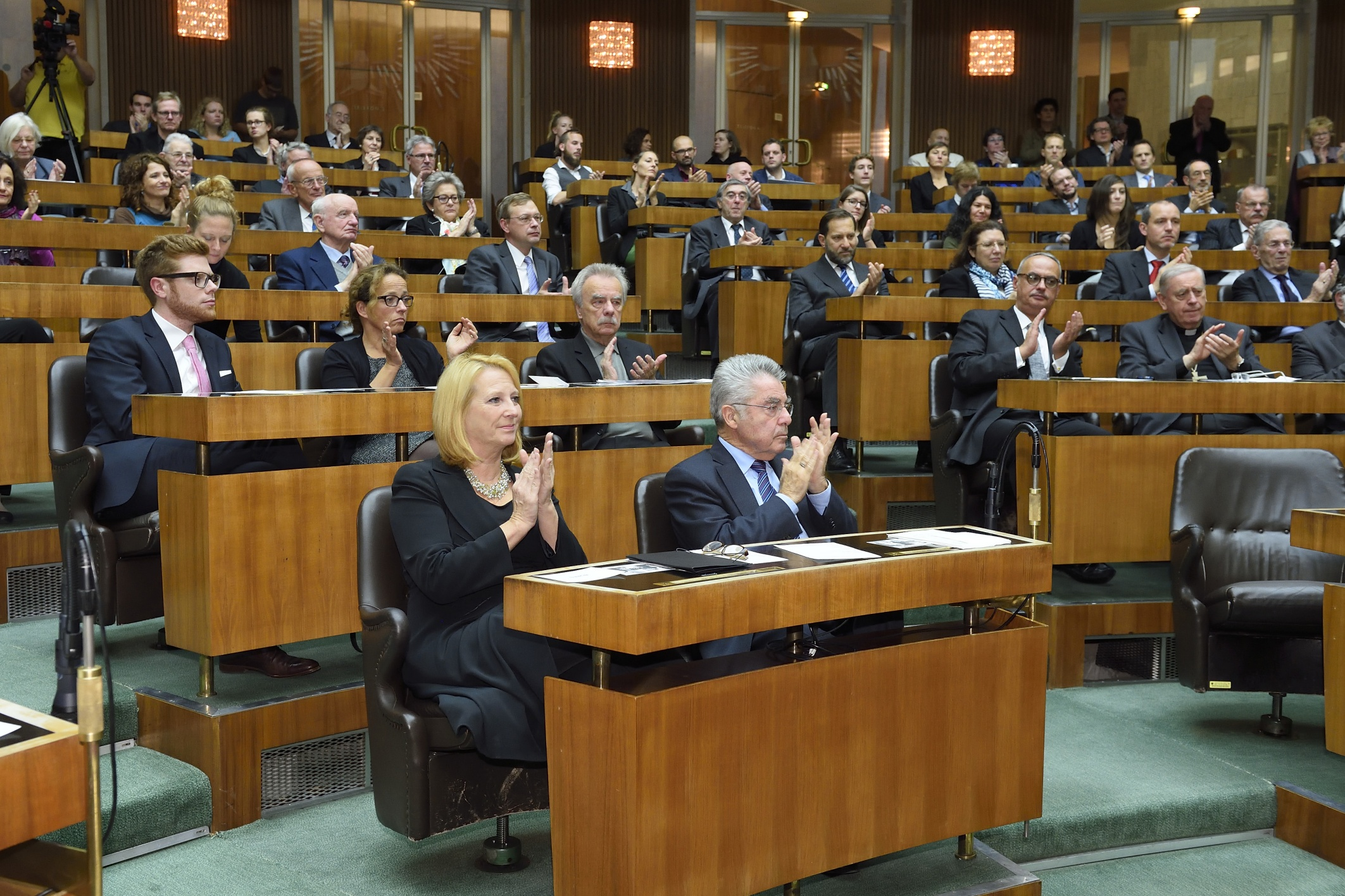 Ceremony at the Austrian Parliament celebrating the 20th Anniversary of the National Fund of the Republic of Austria for Victims of National Socialism