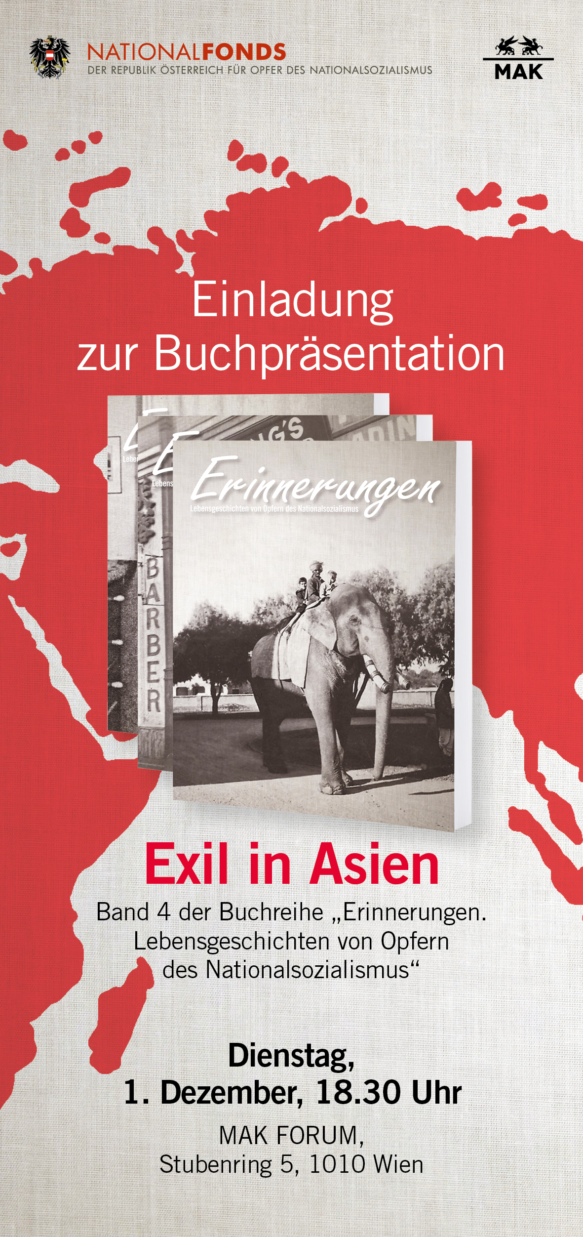 book presentation exile in asia national fund of the republic of
